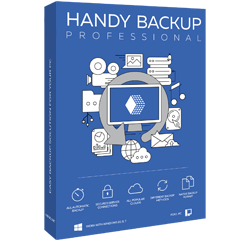 Коробка Handy Backup Professional