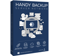 Коробка Handy Backup Server Network