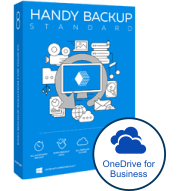 Handy Backup Standard + OneDrive for Business
