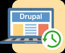 Drupal бэкап