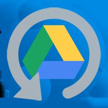 Резервное копирование Google Drive